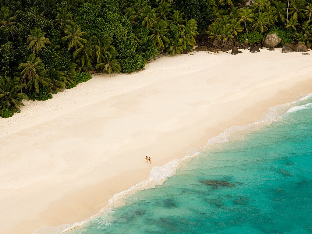 most beautiful island in the Seychelles