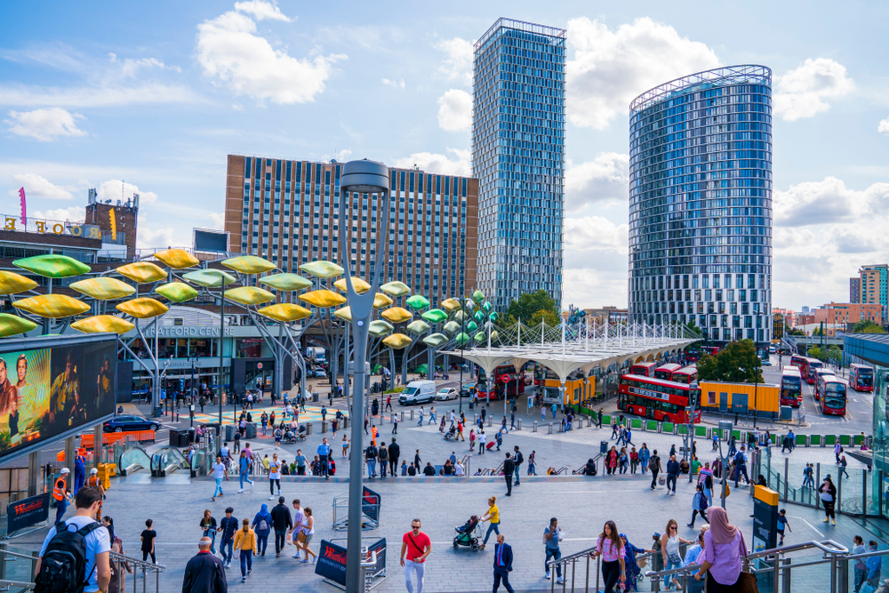 Stratford, one of the best areas to buy property in London