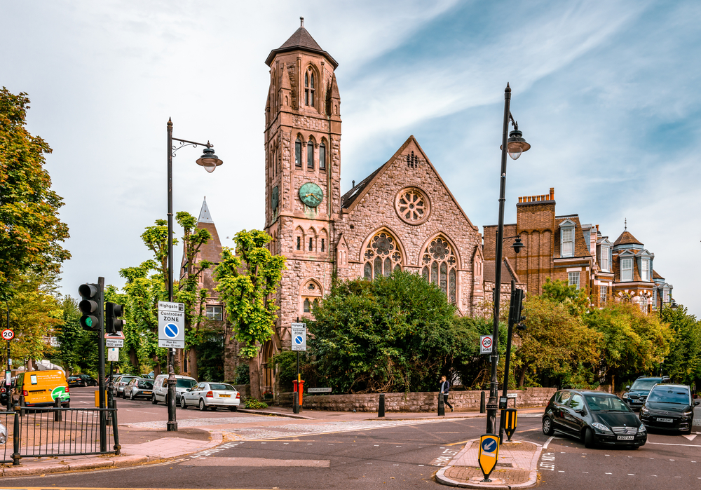 Highgate in North London, a favourable place to buy property in London
